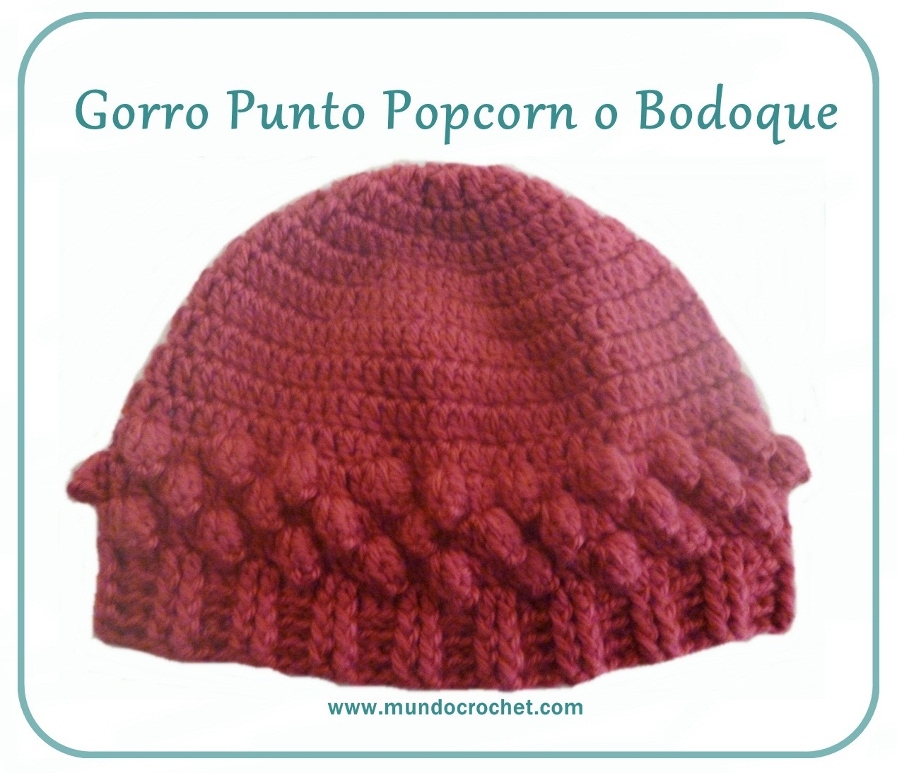 Gorros Archives - Mundo Crochet
