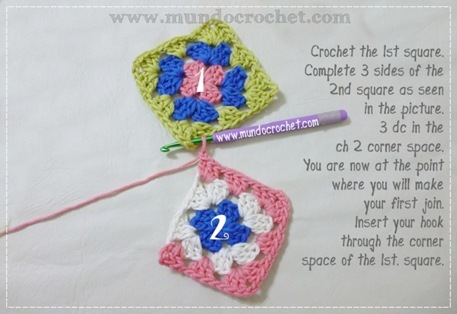 How to join granny squares1