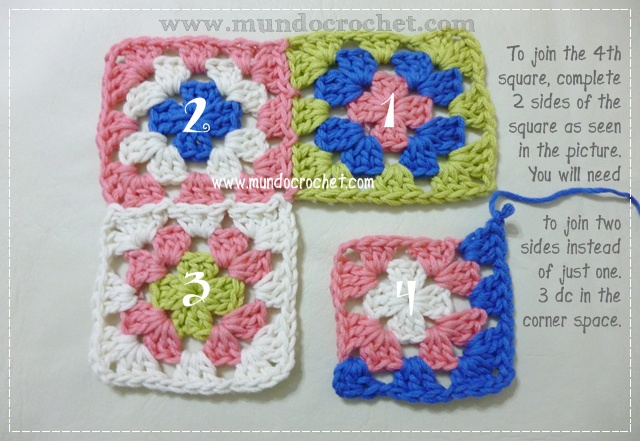 How to join granny squares10