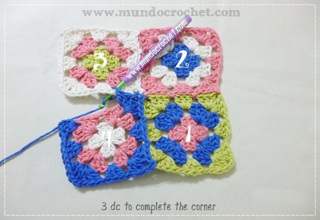 How to join granny squares15